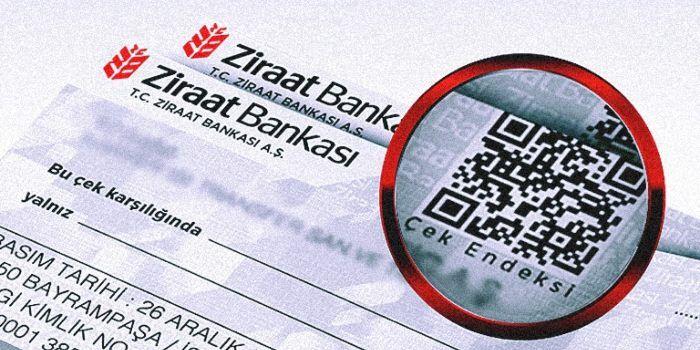 Ziraat Bankası Karekodlu Çek Nedir?