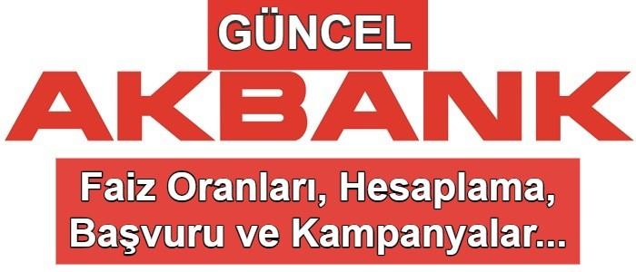 Akbank Taşıt Kredisi Hesaplama (2. El Araçlarda Kampanya!)