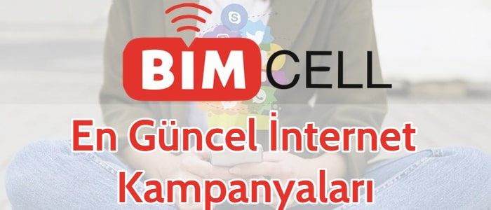 BİMcell İnternet Paketleri 2021 (7 Kampanya ve Hediyeler)