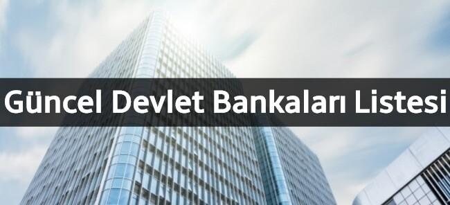 Türkiye'deki Devlet Bankaları Hangileridir? (GÜNCEL LİSTE)