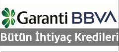 Garanti BBVA İhtiyaç Kredisi Faiz Oranı – Temmuz 2020