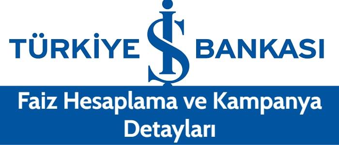 İş Bankası Taşıt Kredisi 2021 (Kampanya Hesaplaması)