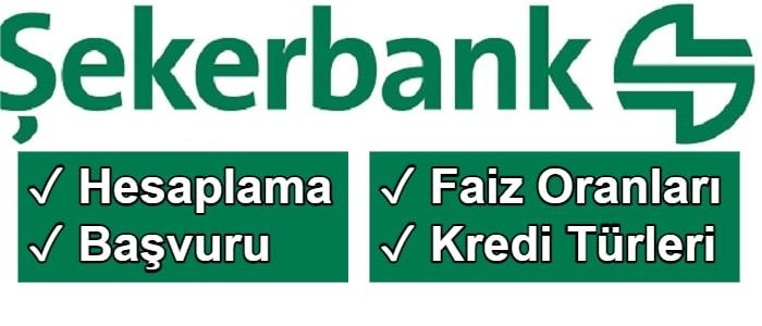 Şekerbank İhtiyaç Kredisi Hesaplama 2021 (Güncel 7 Kampanya)