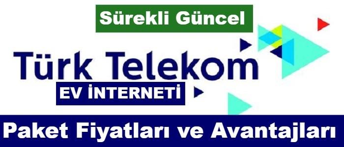 Türk Telekom Ev İnterneti Paketleri 2021 (17 Kampanya Fiyatı)