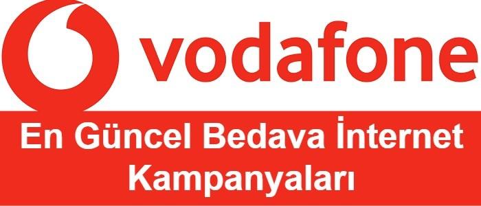 Vodafone Bedava İnternet 2021 (7 Farklı Hediye Kampanyası)