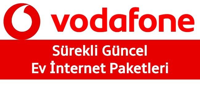 Vodafone Ev İnterneti Paketleri 2021 Listesi (11 Farklı Kampanya!)