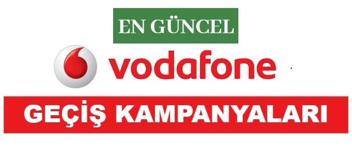 Vodafone Numara Taşıma Kampanyaları 2021 (FATURALI HAT)